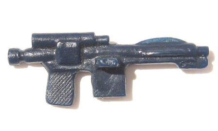 Star Wars Black Blue Stormtrooper Blaster Gun Repro Weapon Floats